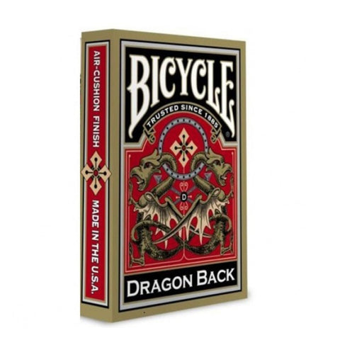 Image of Bicycle Poker Dragon Back Gold