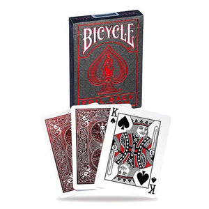 Bicycle Foil Metalluxe Red Playing Cards
