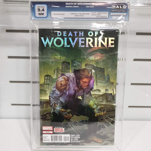 Death Of Wolverine Set of 4 Graded 9.4 to 9.8