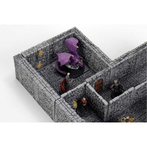 WarLock Tiles Dungeon Tiles II Full Height Stone Walls Expansion