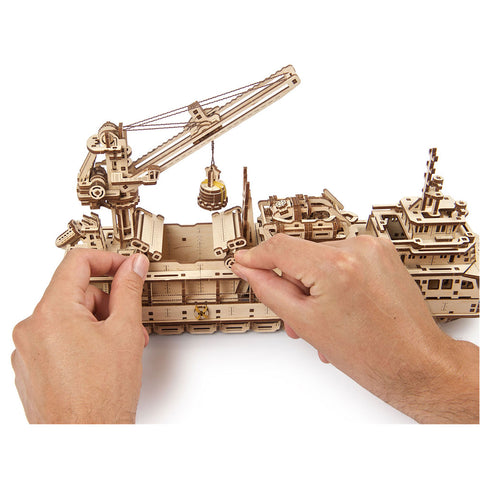 Image of UGears Research Vessel
