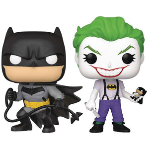 Batman - Batman & Joker (White Knight) US Exclusive Pop! Vinyl 2-Pack