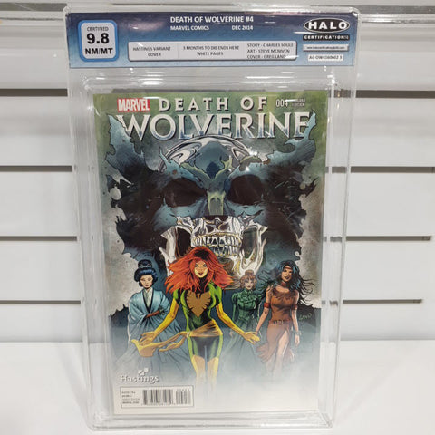 Death Of Wolverine Hastings Set of 4 Graded 9.6 to 9.8
