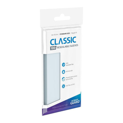 Ultimate Guard Resealable Standard Sleeves (100)