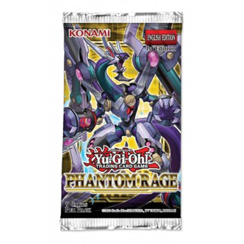 Image of Yu-Gi-Oh! - Phantom Rage Booster Box