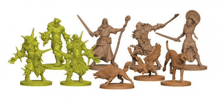 Zombicide Green Horde Friends and Foes Expansion