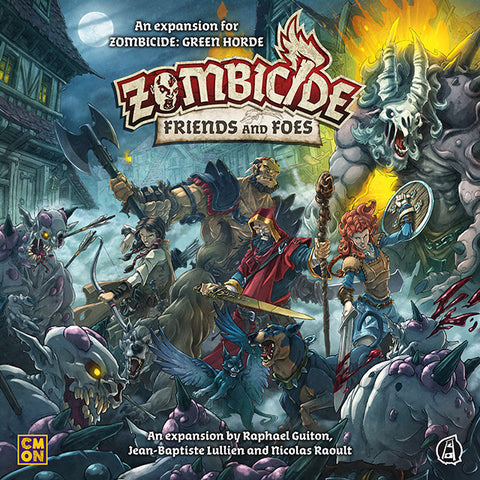 Image of Zombicide Green Horde Friends and Foes Expansion