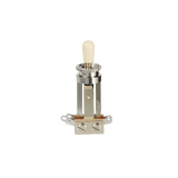 Gibson Accessories PSTS-020 3 Way Toggle Switch Straight Type with Cream Switch Cap (PSTS020) - Reco Music Malaysia