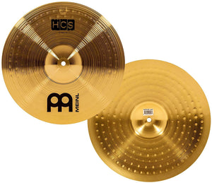 Meinl HCS141620 HCS Cymbal Set (14in Hi-Hat, 16in Crash, 20in Ride) (Made in Germany) - Recomusic
