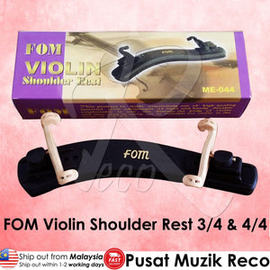 Best Price FOM Violin Shoulder Rest 3/4 & 4/4 | Reco Music Malaysia