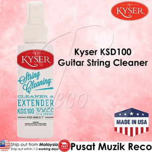 Kyser KDS100 Guitar String Cleaner - Reco Music Malaysia