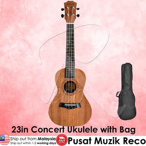 Molin 23in Concert Ukulele with Free Bag | RecoMusic Malaysia