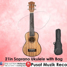 Load image into Gallery viewer, Dodomi 21in Soprano Ukulele with Bag | RecoMusic Malaysia