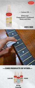 Kyser KDS800 Guitar FretBoard Lemon Oil - Reco Music Malaysia