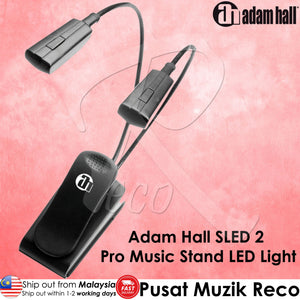 Adam Hall SLED 2 Pro Music Stand LED Light - Reco Music Malaysia
