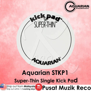 Aquarian STKP1 Super-Thin Single Kick Pad | Reco Music Malaysia