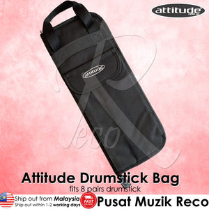 Attitude DrumStick Bag Case with Carrying Strap | Reco Music Malaysia