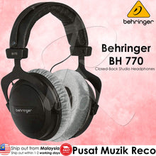 Load image into Gallery viewer, Behringer BH 770 Closed-Back Studio Reference Headphones (BH770 BH-770) | Reco Music Malaysia