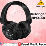 Behringer HPX6000 High-Definition Dj Headphones - Recomusic