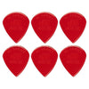 Dunlop 47PXLN Nylon Jazz III XL Red Guitar Picks (6pcs) | Reco Music Malaysia