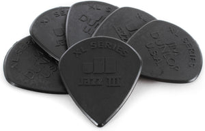 Dunlop 47PXLS NYLON Jazz III XL Black Stiffo Guitar Picks (6pcs) | Reco Music Malaysia