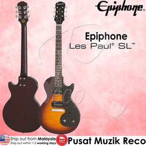 Epiphone Les Paul SL VS Electric Guitar - Vintage Sunburst | Reco Music Malaysia
