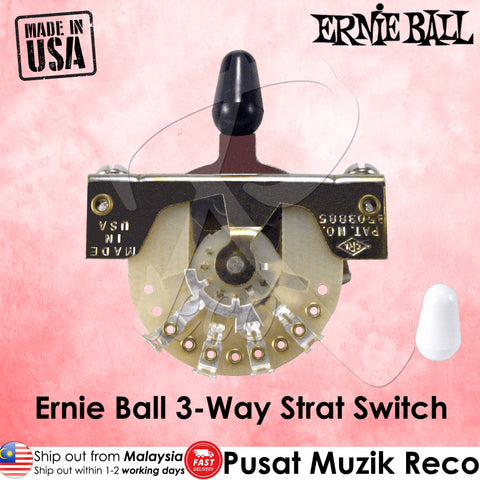 Ernie Ball 6371 Guitar 3-Way Strat Switch - Recomusic
