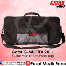 Load image into Gallery viewer, Gator G-MULTIFX 2411 Guitar Multi Effects Pedal Bag - Recomusic