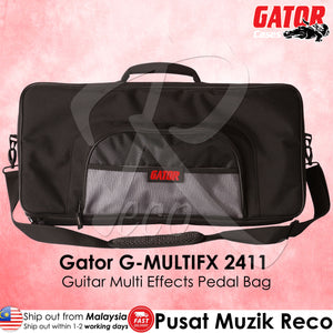Gator G-MULTIFX 2411 Guitar Multi Effects Pedal Bag - Reco Music Malaysia