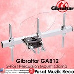 Gibraltar GAB12 3-Post Percussion Mount Clamp - Recomusic