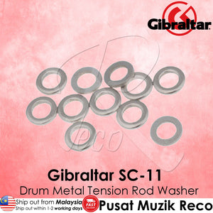 Gibraltar SC-11 Drum Tension Rod Metal Washer | Reco Music Malaysia