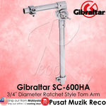 Gibraltar SC-600HA 3/4 Inch Diameter Ratchet Style Tom Arm | Reco Music Malaysia