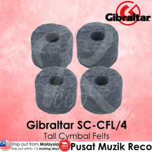 Load image into Gallery viewer, Gibraltar SC-CFL/4 1-1/2 inch Large Cymbal Felts Tall  | Reco Music Malaysia