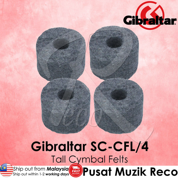 Gibraltar SC-CFL/4 1-1/2 inch Large Cymbal Felts Tall  | Reco Music Malaysia