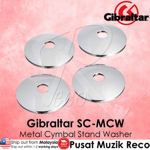 Gibraltar SC-MCW Metal Cymbal Stand Cup Washer (4/Pack) | Reco Music Malaysia