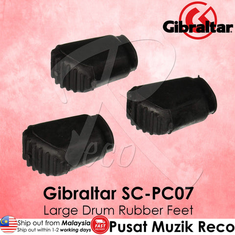 Gibraltar SC-PC07 Cymbal Stand Large Rubber Feet (3/Pack) | Reco Music Malaysia