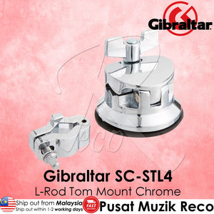 Gibraltar SC-STL4 L-Rod Drum Tom Floor Tom Mount Chrome | Reco Music Malaysia