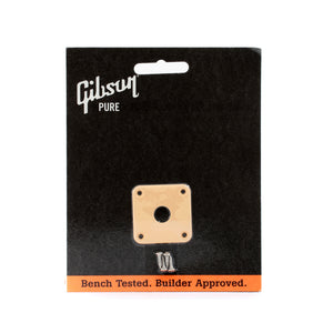 Gibson PRJP-030 Guitar Jack Plate, Creme Plastic | Reco Music Malaysia
