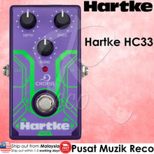 Load image into Gallery viewer, Hartke HC33 Chorus - Analog Bass Chorus Guitar Effects Pedal - Recomusic