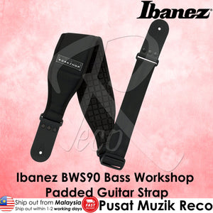Ibanez BWS900 Bass Workshop Thick Padded Guitar Strap - Reco Music Malaysia