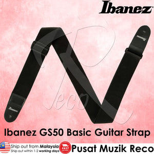Ibanez GS50 Basic Guitar Strap - Reco Music Malaysia