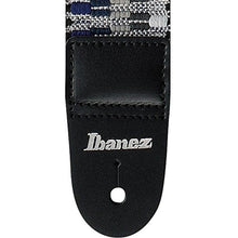 Load image into Gallery viewer, Ibanez GSB50 C3 Braided Guitar Strap Blue Grey - Recomusic