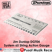 Load image into Gallery viewer, Jim Dunlop DGT04 System 65 Guitar String Action Gauge | Reco Music Malaysia