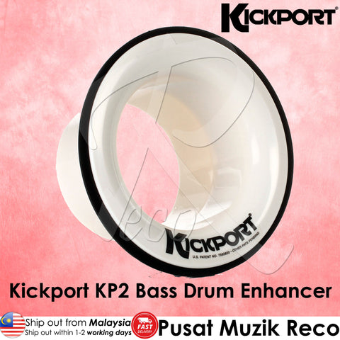Kickport KP2 Bass Drum Enhancer Port | Reco Music Malaysia