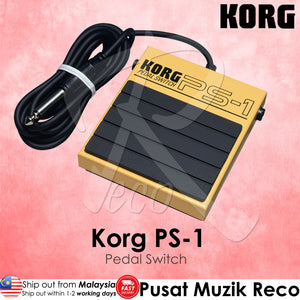Korg PS-1 - Pedal Switch - Reco Music Malaysia