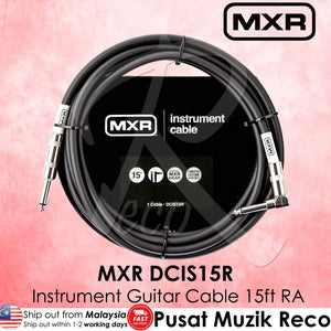 MXR DCIS15R Instrument Guitar Cable 15ft RA | Reco Music Malaysia