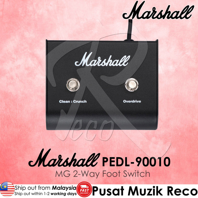 Marshall PEDL-90010 MG 2-Way Footswitch | Reco Music Malaysia