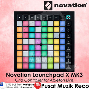 Novation Launchpad X MK3 Grid Controller | Reco Music Malaysia