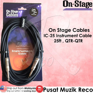 OSS IC-25 Instrument Guitar Cable 25ft | Reco Music Malaysia