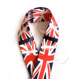 RM Designer Polyester Guitar Strap - UK Flag - Recomusic